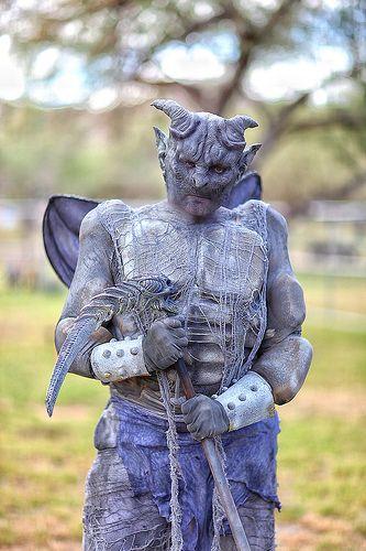 gargoyl halloween costumes | Thread: My Gargoyle Costume at the Fireland Faerie Festival