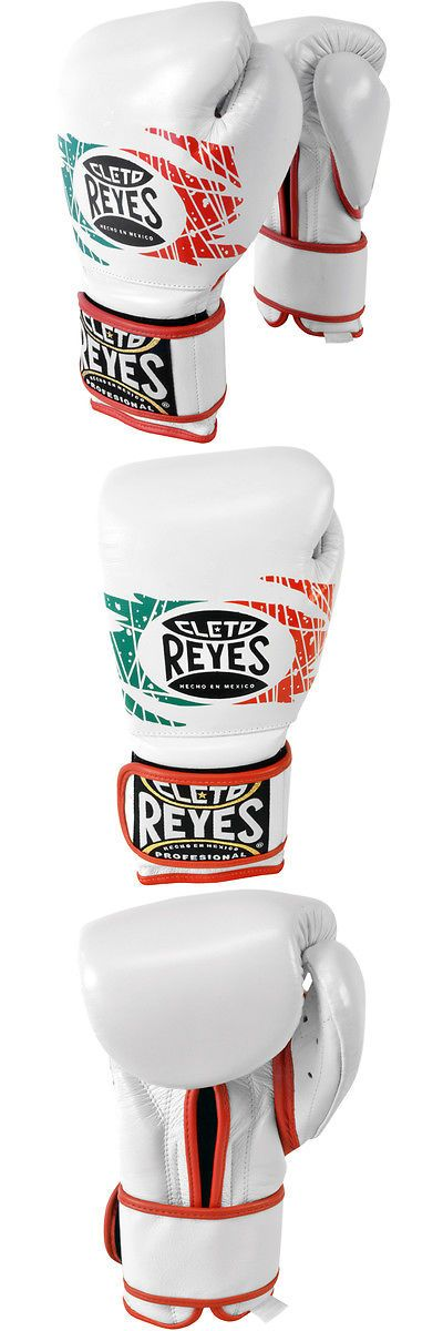 Gloves - Boxing 30102: Cleto Reyes Hook And Loop Leather Training Boxing Gloves - 12 Oz - Mexican Flag BUY IT NOW ONLY: $159.5