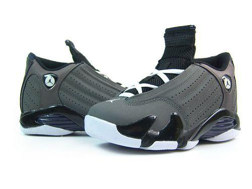 $99.98 Cheap high quality Women\u0027s Nike Air Jordan 14 Shoes Dark Grey/Black/ White