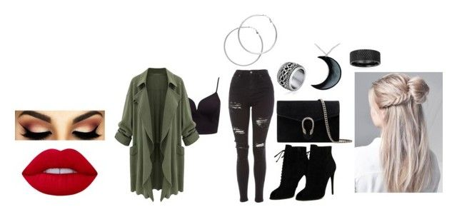 """""""Fancy Day out"""" by melody-joy-adkins on Polyvore featuring Topshop, Tom Ford, Gucci, Lime Crime, Curiology and Melissa Odabash"""