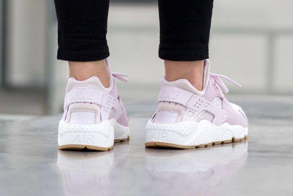 Nike Air Huarache TXT Bleached Lilac pour femme pas cher (3)