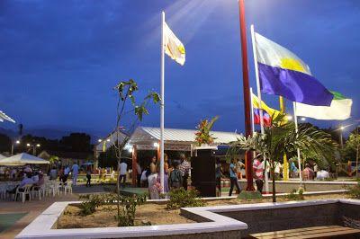 La Noche del Arco Iris: Alcalde de Riohacha inauguró parque en el corregim...