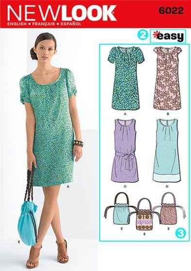 """Como usar um padrão de costura de """" Sew Love It """" do blog"""