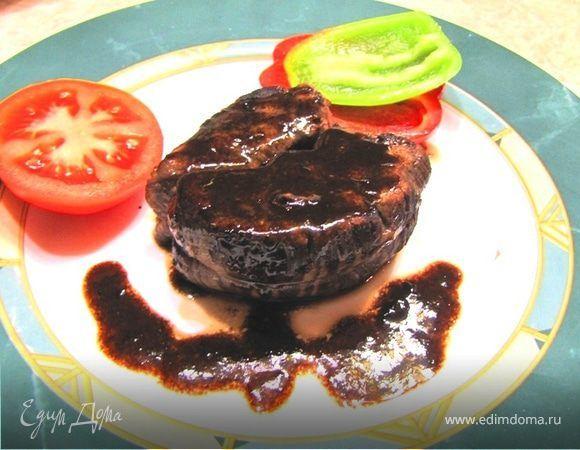 Стейк из говядины - ответы на вопросы. Ингредиенты: соевый соус, оливковое масло, вино красное сухое