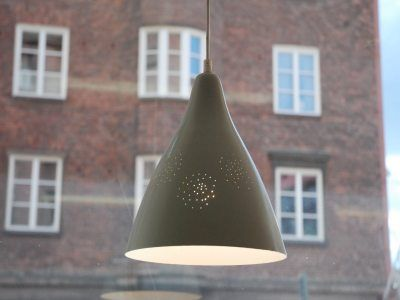Pape light by Lisa Johansson-Pape for Orno in 50's.