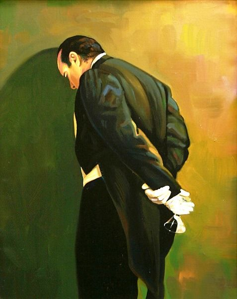 Американский художник Марк Шток