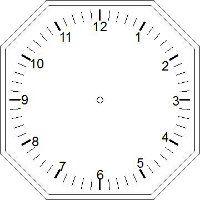 Blank Clock Faces