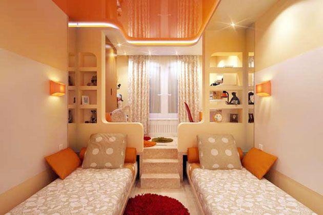 Подиум в детской комнате – практичное и стильное дизайнерское решение для любого помещения, а в особенности