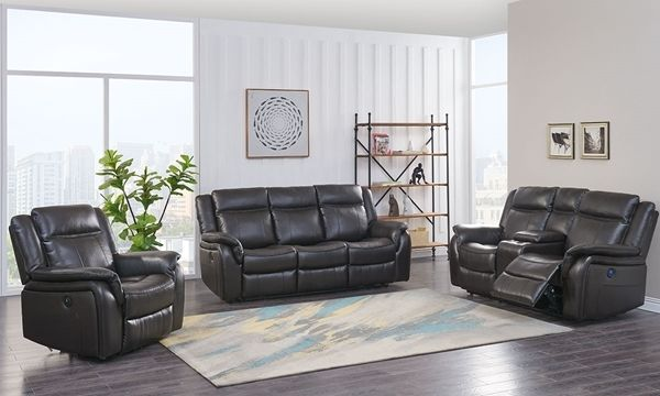 Living Room Leather Luxe Furniture