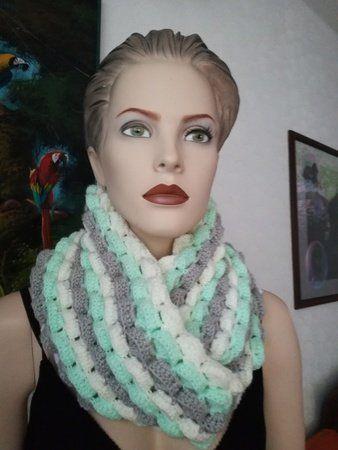 167 besten Schals Bilder auf Pinterest | Schals, Einfach häkeln und ...