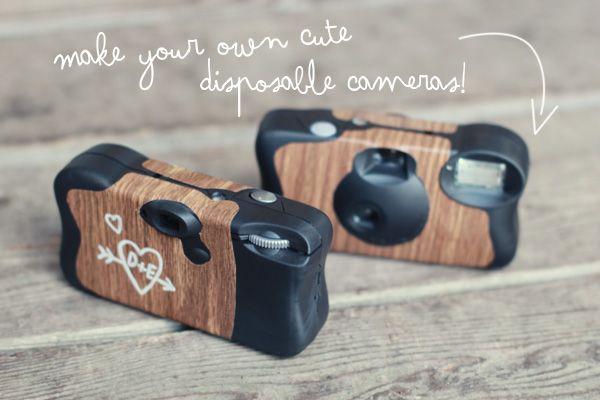 cámaras de usar y tirar personalizadas DIY: Disposable cameras