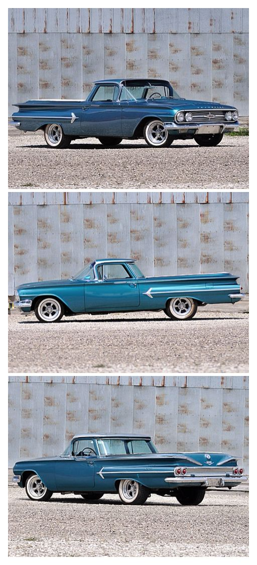 1960 Chevy EL Camino.  Find parts for this classic beauty at restorationpartssource.com.
