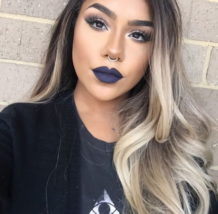 hair style make over best 25 blue lipstick ideas on blue 9205 | 8a60c1e379f3f54acce9205c4ddc542e jeffree star cosmetic fall lipstick