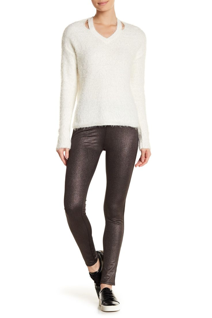 Dex - Shiny Leggings is now 52% off. Free Shipping on orders over $100.