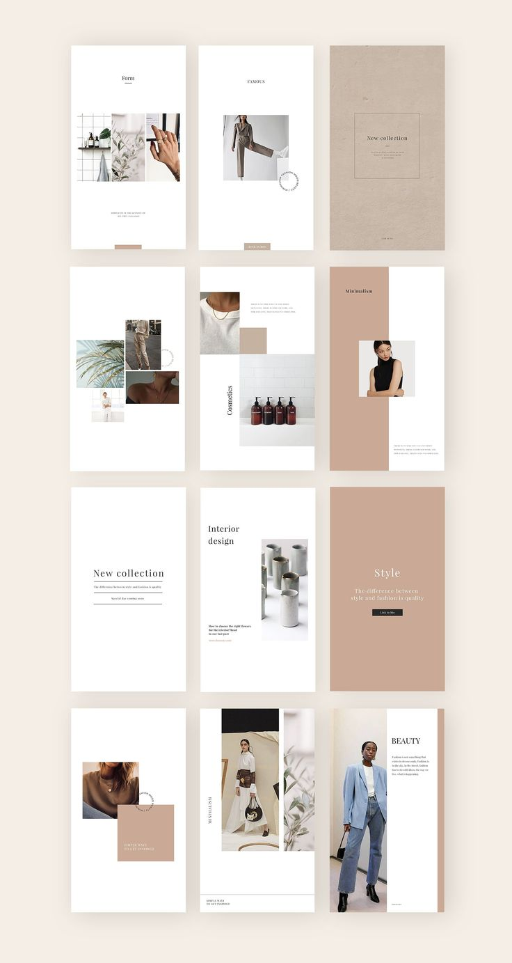 Minimalism – social media template by Digital Breath templates on Creative Marke…