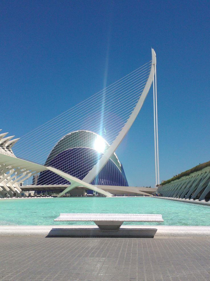 City of art and science. Valencia.