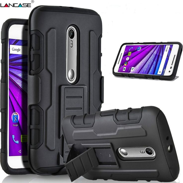 For Motorola Moto G4 Plus Case Belt Clip Holster Kickstand Hybrid Armor Case For MOTO G4 Plus Cover G4 Play G3 G1 X Play Coque