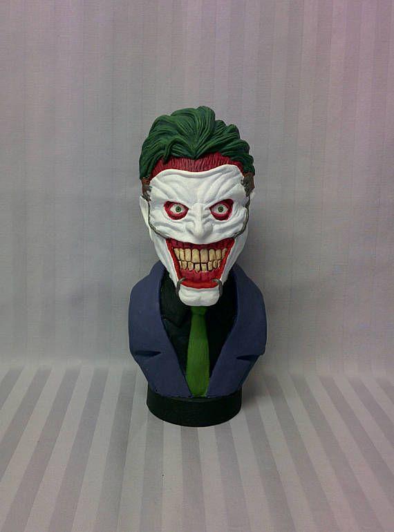 Batman villain    The Joker   Resin cast  Gift ideas