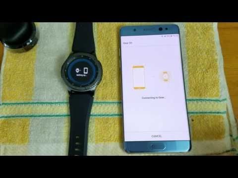 Remove Bypass Reactivation Lock On Samsung Account Samsung GEAR S3 Front...