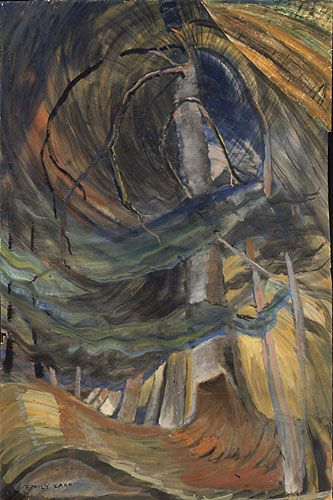Dancing Tree - Emily Carr