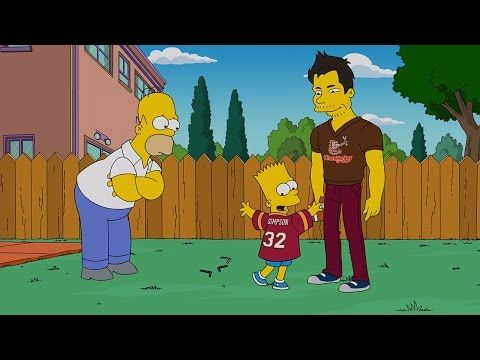 Heisman Trophy winner Matt Leinart reads for 'The Simpsons'   Behind the Scenes