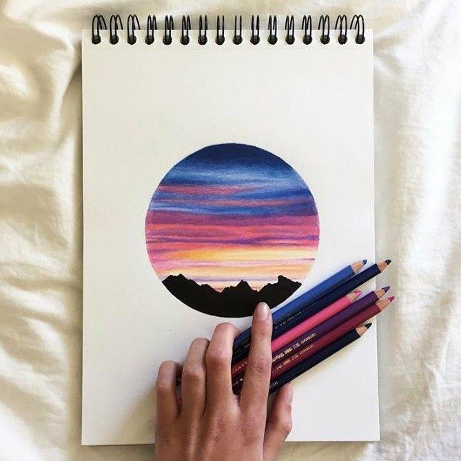 Color Pencil Art With Images Color Pencil Art Colorful Art