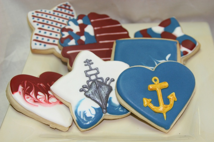 memorial day cookie decorations
