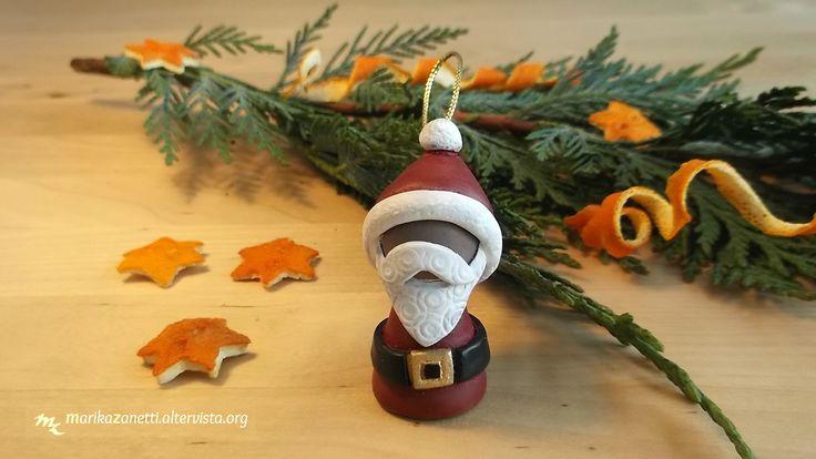 Babbo Natale Decorazione per Albero http://www.marikazanetti.altervista.org/