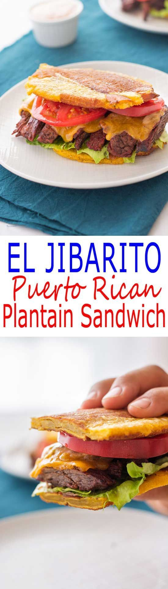 65 best recetas de sandwichs images on pinterest aerobic exercises jibarito recipe puerto rican sandwich with steak using plantains instead of bread forumfinder Gallery