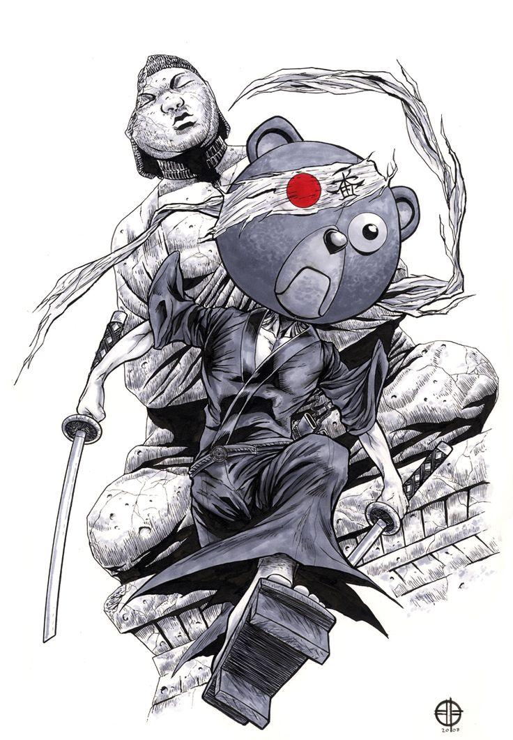 Afro Samurai - Kuma by BrettBarkley.deviantart.com on @deviantART