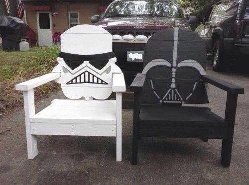 Star Wars lounge chairs