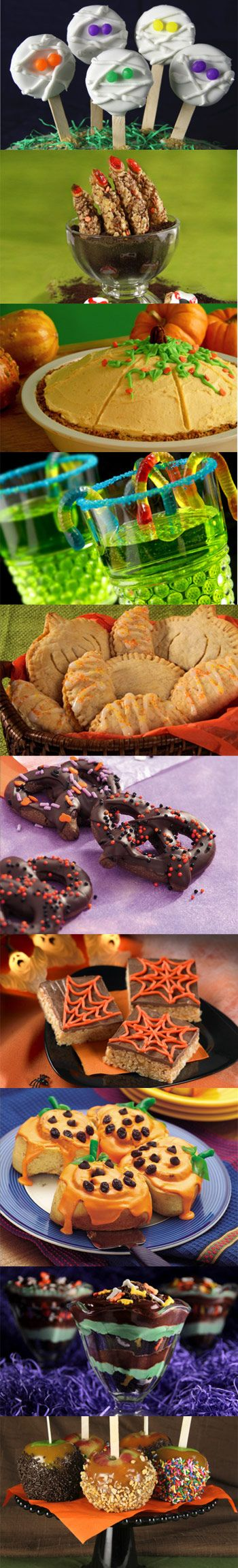 LOTS of fun Halloween food ideas at this link, check it out!