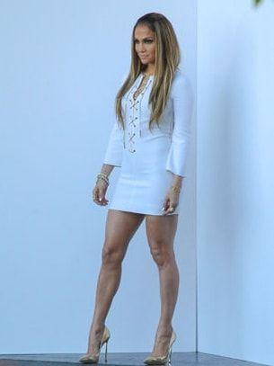Les jambes musclées de Jennifer Lopez