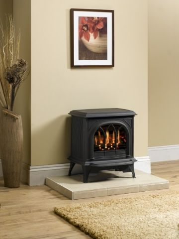 electric log burner and surround - Google Search