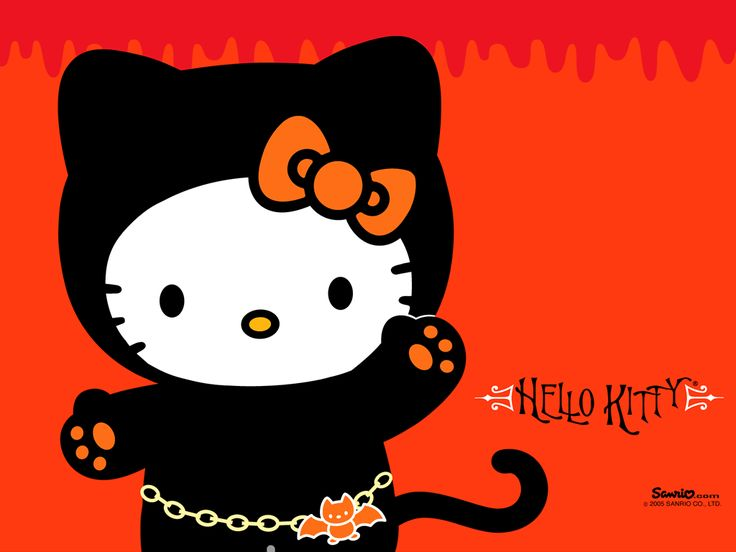 explore and share halloween hello kitty desktop wallpaper on wallpapersafari - Desktop Wallpaper Halloween