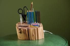 etsy star: rustic desk accessories