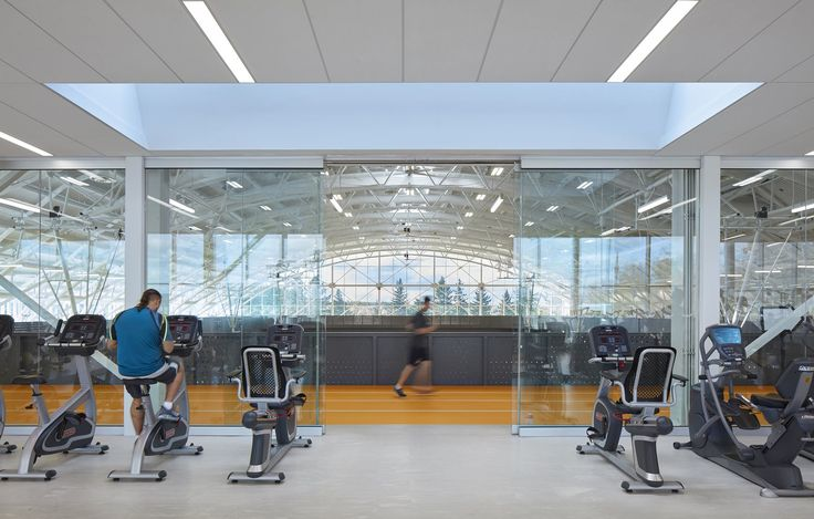 Conestoga College Student Recreation Centre Mjma Archinect In 2021 College Workout Mind Relaxation Recreation Centers