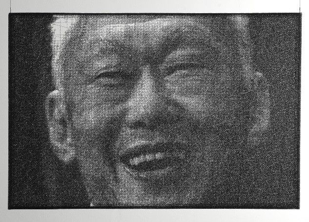 Lee Kuan Yew by Park Seung Mo