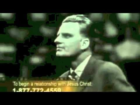 """Billy Graham -Preaching...""""Demons,witches,wizards,the devil """"When JESUS casts out a legion of demons - YouTube"""
