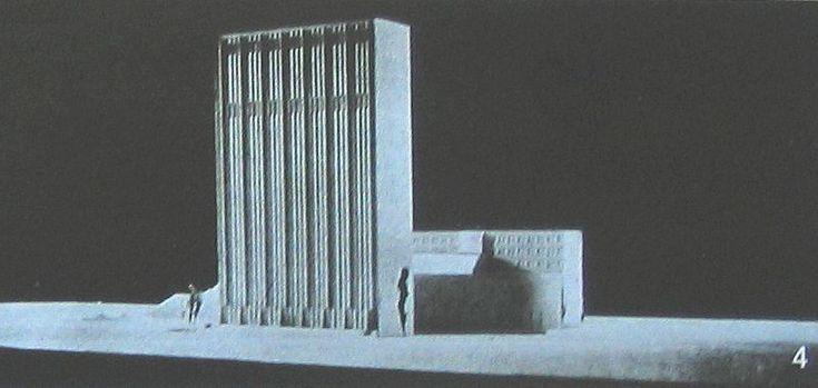 Wieżowiec Polskiego Radia, Pl. Unii Lubelskiej, 70 m, 1938, proj. Bohdan Pniewski