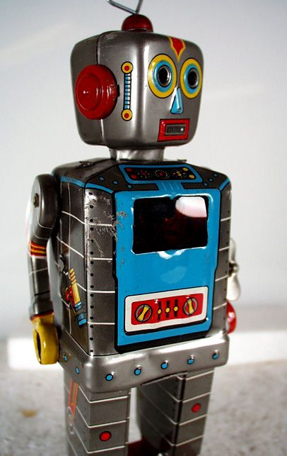 The Television Robot. Steve Jaspen collection.