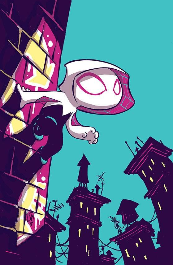 Spider-Gwen #1 Baby Variant - Skottie Young