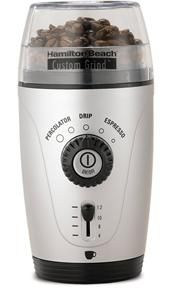 Only $19, Hamilton Beach Custom Grind Hands-Free Coffee Grinder, check it out on What to buy dad for Christmas with great gift ideas for men http://www.whattobuydadforchristmas.com with Gift ideas for under ten dollars as well as fun, interesting, but gifts dad will use from ten dollars to a hundred dollars and all available to click through and buy easily on Amazon.
