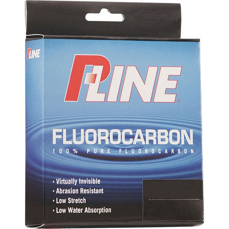 P-Line Fluorocarbon Fishing Line, Clear