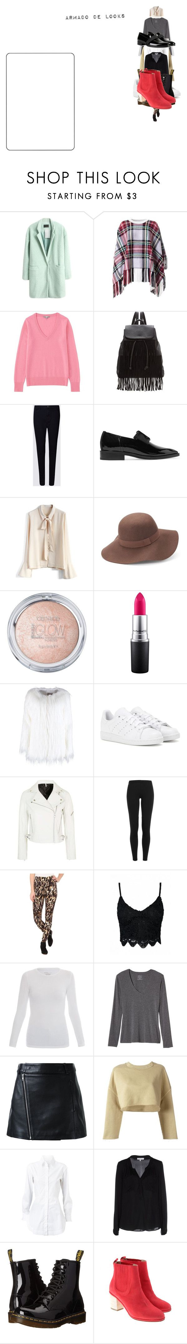 """cualquier cosa"" by ludmilisima on Polyvore featuring moda, Chloé, Uniqlo, Glamorous, Lanvin, Chicwish, MAC Cosmetics, adidas, Topshop y Polo Ralph Lauren"