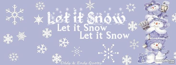Let It Snow Facebook Covers | Covers for Facebook | Timeline ...