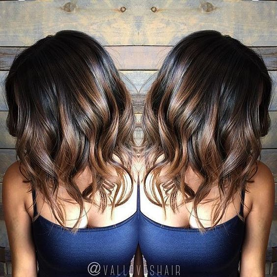 Balayage Hair Black Hair | Hairstyles Magazine