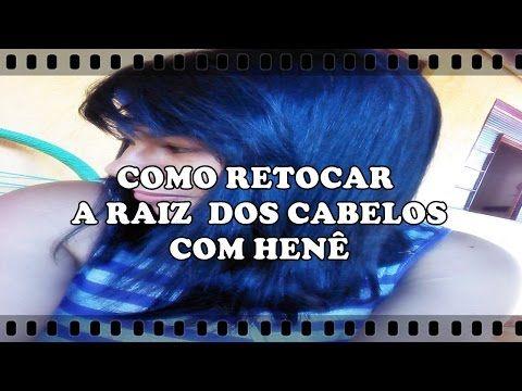 Como retocar a raiz dos cabelos com Henê - YouTube