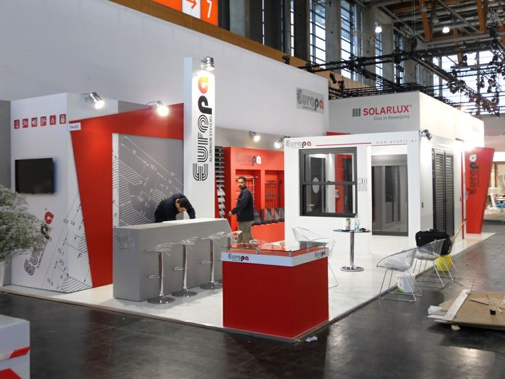 Last few details for Europa exhibition room at Fensterbau Frontale 2014. #europaprofil