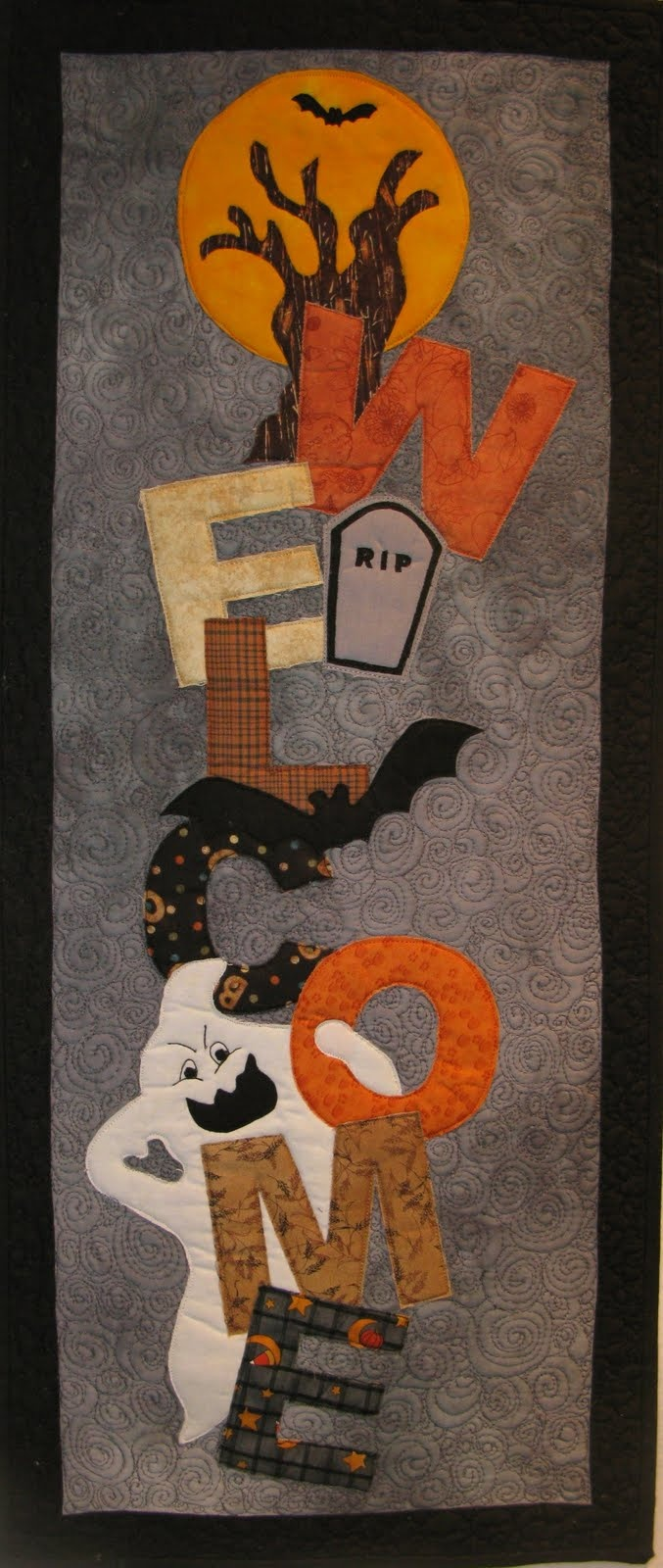 960 Best Halloween And Fall Quilts Images On Pinterest